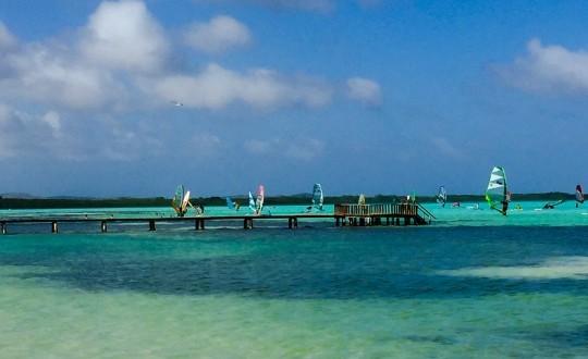 Wind Surfing & Kiteboarding on Bonaire wind surf