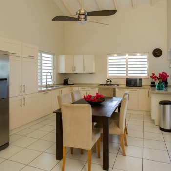 Galleries of eat in kitchen Villa Lunt Bonaire