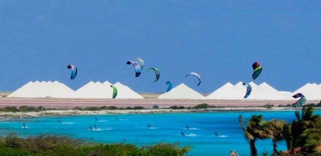 Wind Sufing & Kite Boarding on Bonaire Kite Board