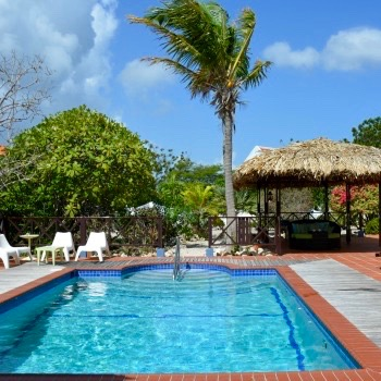 Villa Lunt Bonaire amazing pool vacation rental