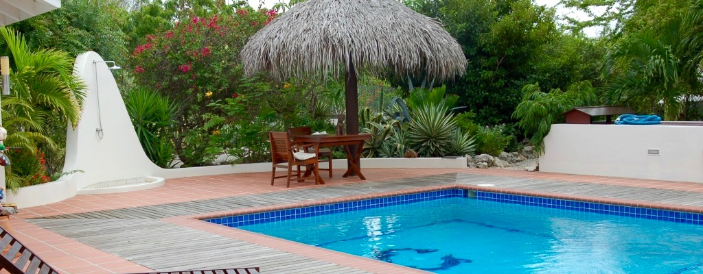 Villa Lunt Bonaire Vacation Rental Private Pool