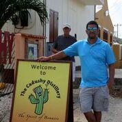 Visiting Cadushy Bonaire
