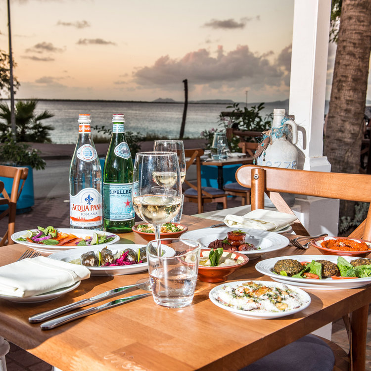 Mezze Table with a View
