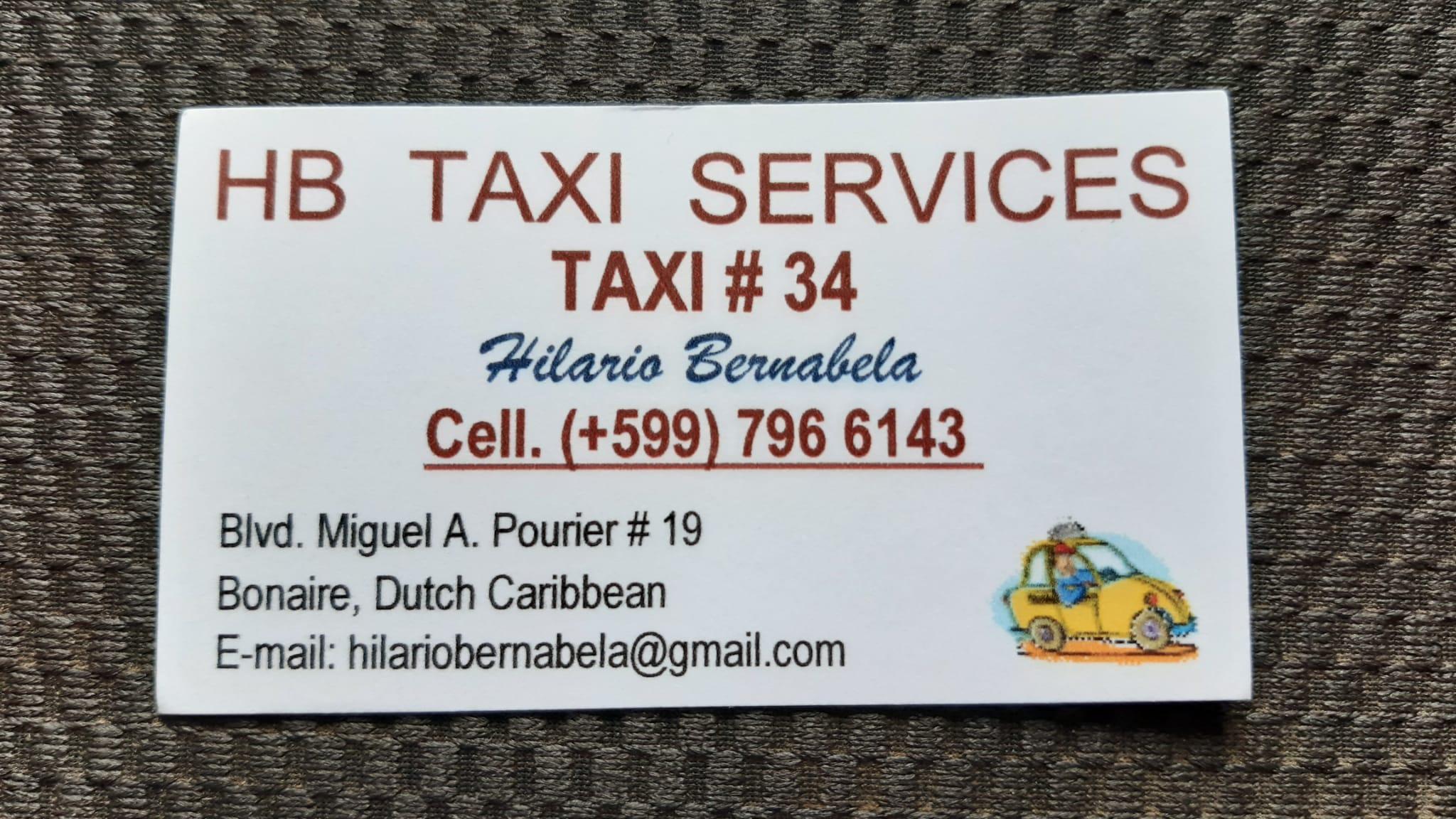 bonaire Taxi Driver